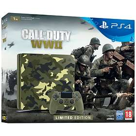 Sony PlayStation 4 Slim 1TB (incl. Call of Duty: WWII) - Limited Edition