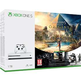 Microsoft Xbox One S 1TB (incl. Assassin's Creed Origins)