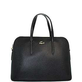 749206540aa Find the best price on Lacoste Chantaco Dual Carry Piqué Leather ...