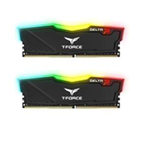 Team Group Delta RGB Black DDR4 2666MHz 2x4GB (TF3D48G2666HC15BDC01)
