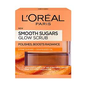 L'Oreal Smooth Sugar Glow Face & Lips Scrub 50ml