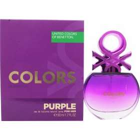 United Colors of Benetton Colors For Her Purple edt 50ml
