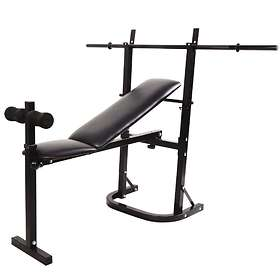 Active Intent Weight Bench With Lifting Bar