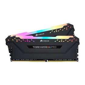Corsair Vengeance Black RGB LED Pro DDR4 2666MHz 2x8GB (CMW16GX4M2A2666C16)