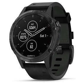 Garmin Fēnix 5 Plus Sapphire Leather