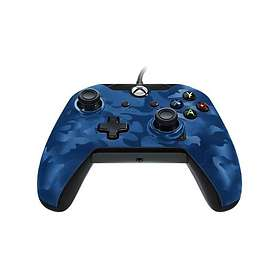PDP Wired Camo Blue Controller (Xbox One)