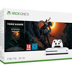 Microsoft Xbox One S 1TB (ink. Shadow of the Tomb Raider)