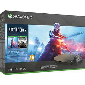 Microsoft Xbox One X 1TB (incl. Battlefield V - Deluxe Edition)