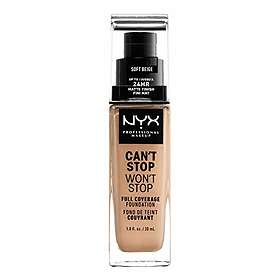 NYX Can't Stop Won't Stop Full Coverage Foundation 30ml