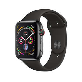 Apple Watch Series 4 4G 40mm Stainless Steel with Sport Band