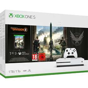 Microsoft Xbox One S 1TB (incl. Tom Clancy's The Division 2)