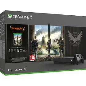 Microsoft Xbox One X 1TB (incl. Tom Clancy's The Division 2)