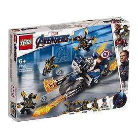 LEGO Marvel Super Heroes 76123 Captain America: Outriders Attack