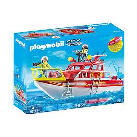 Playmobil City Action 70147 Fire Rescue Boat