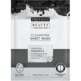 Freeman Beauty Infusion Charcoal + Probiotics Cleansing Sheet Mask 1st
