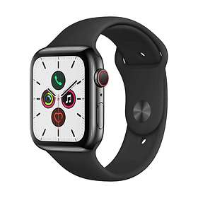 Apple Watch Series 5 4G 44mm Stainless Steel with Sport Band