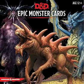 Dungeons & Dragons: 5th: Epic Monster Cards (exp.)