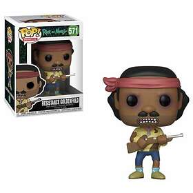 Funko POP! Rick and Morty 571 Resistance Goldenfold