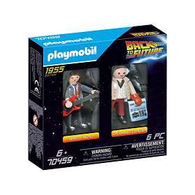 Playmobil Back to the Future 70459 Marty Mcfly And Dr. Emmet Brown