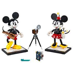 LEGO Disney 43179 Mickey Mouse & Minnie Mouse Buildable Characters