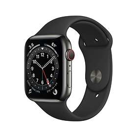 Apple Watch Series 6 4G 44mm Stainless Steel with Sport Band