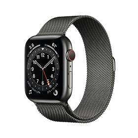 Apple Watch Series 6 4G 44mm Stainless Steel with Milanese Loop