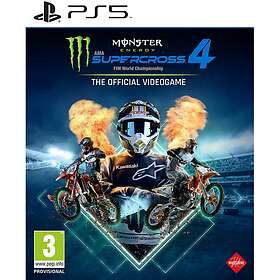 Monster Energy Supercross: The Official Videogame 4 (PS5)