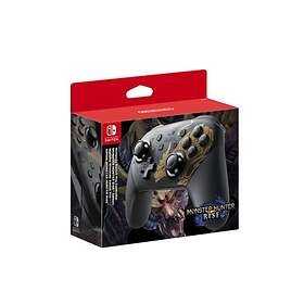 Nintendo Switch Pro Controller - Monster Hunter Rise Edition (Switch)