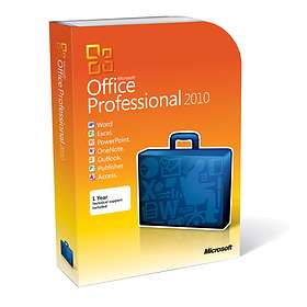 Microsoft Office Professional 2010 Eng