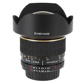 Samyang MF 14/2.8 ED AS IF UMC for Canon