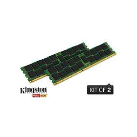 Kingston ValueRAM DDR2 400MHz ECC SR x4 2x2GB (KVR400D2S4R3K2/4G)