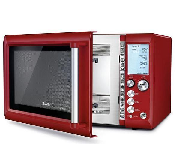 Breville The Quick Touch Bmo735 Red Microwaves Lowest Price Test And Reviews