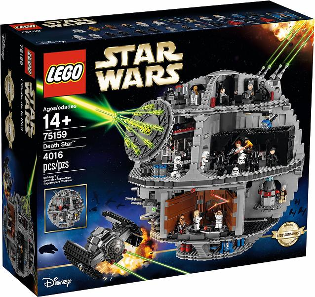 LEGO Star Wars 75159 Death Star - LEGO - Lowest price, test and reviews